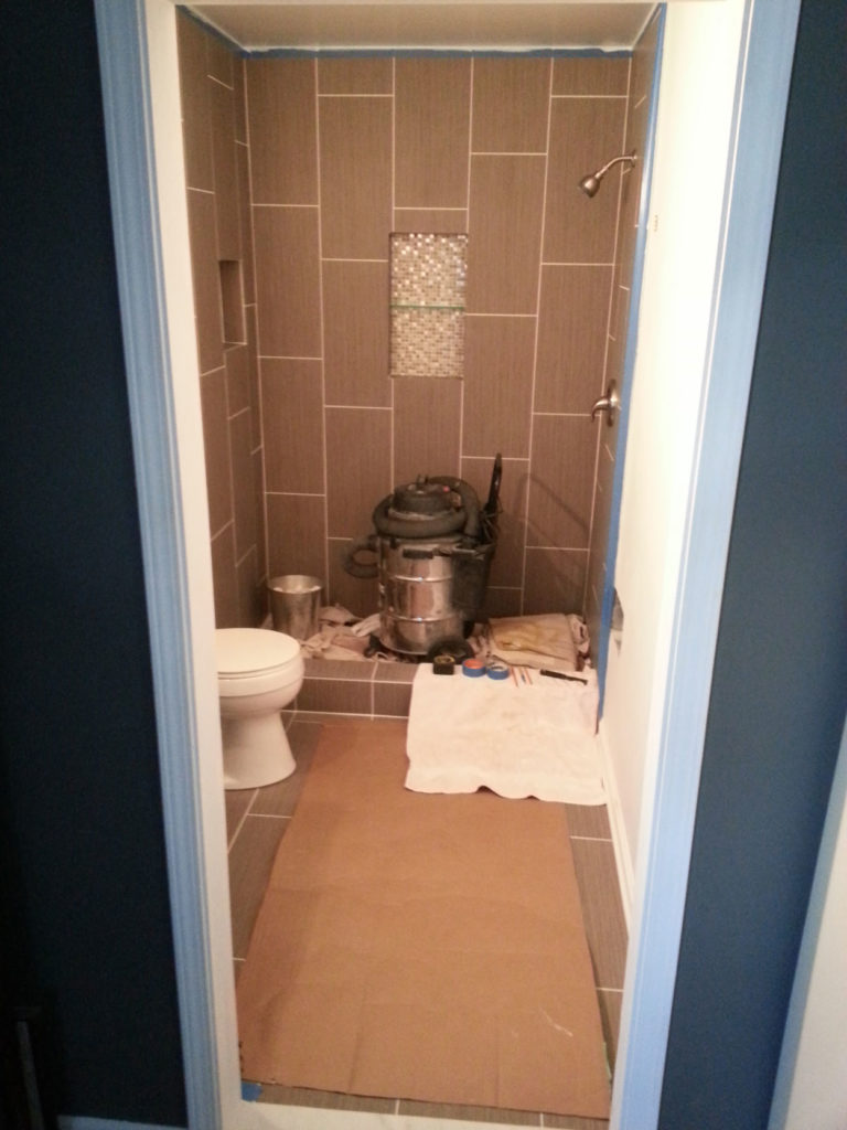 Bathroom Remodeling During Picture
