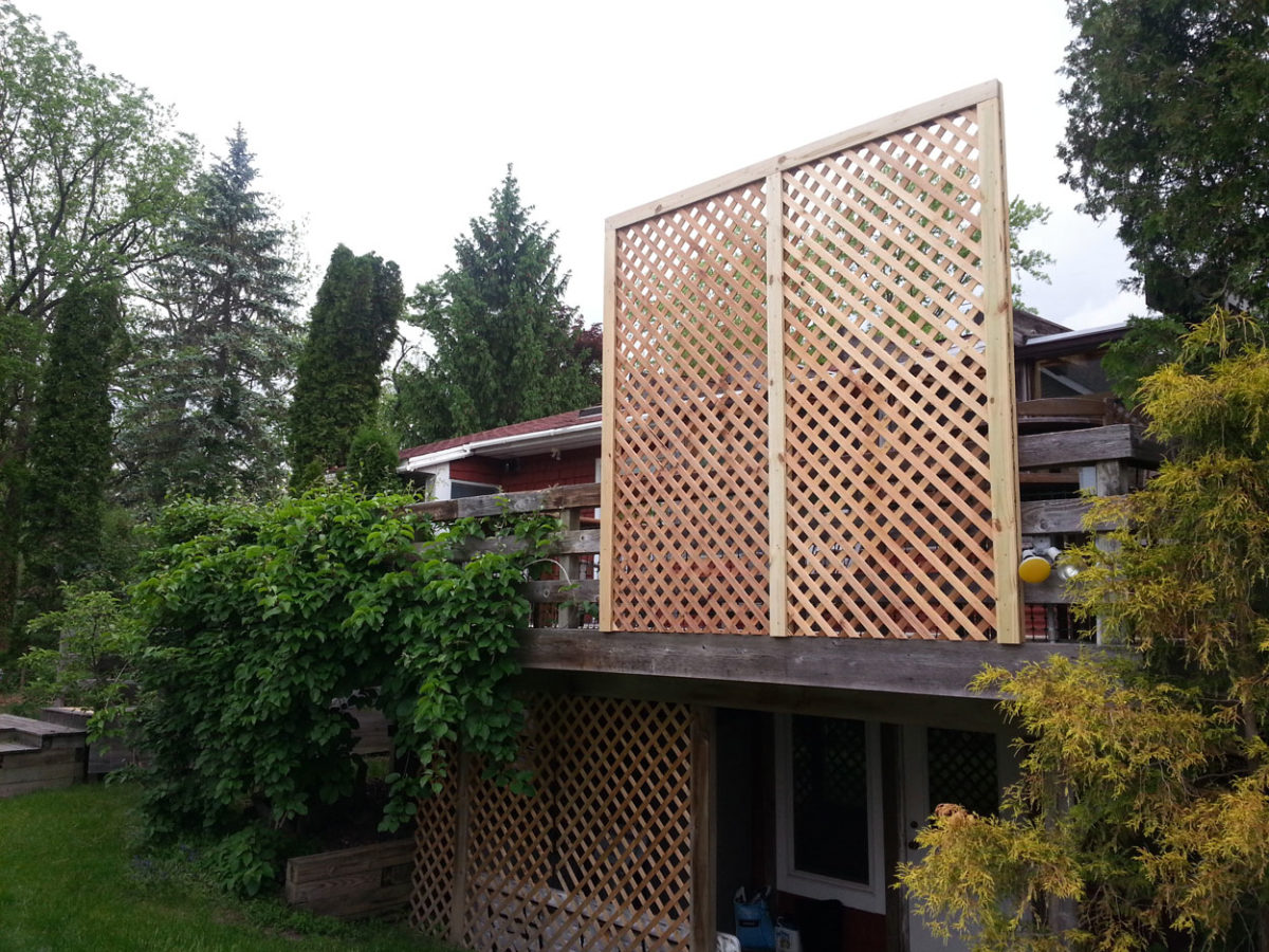 Privacy Fence Installation After